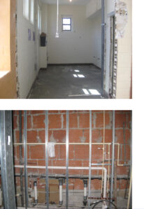 Newly installed energy-efficient HVAC